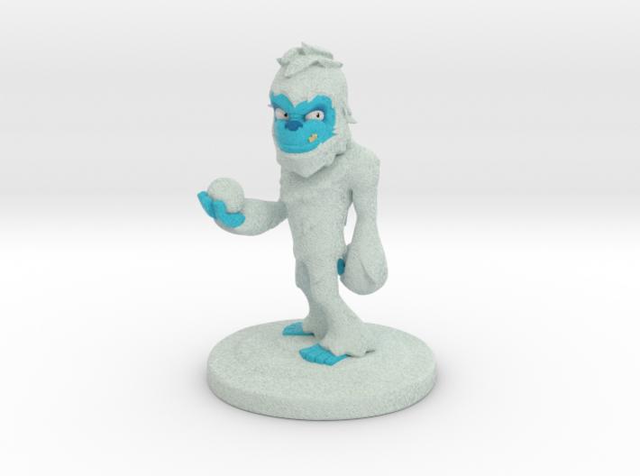 Little Yeti 3d printed Yeti