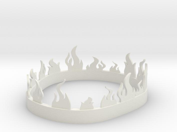 Stannis Baratheons Fiery Crown 3d printed