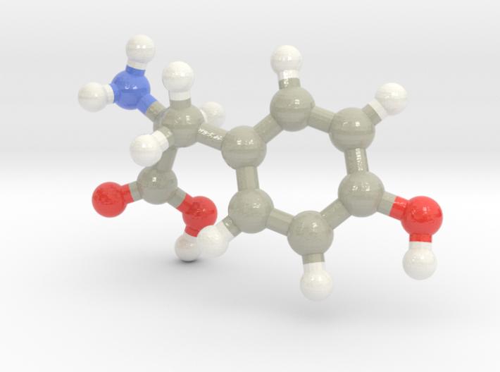 Tyrosine (Y) 3d printed