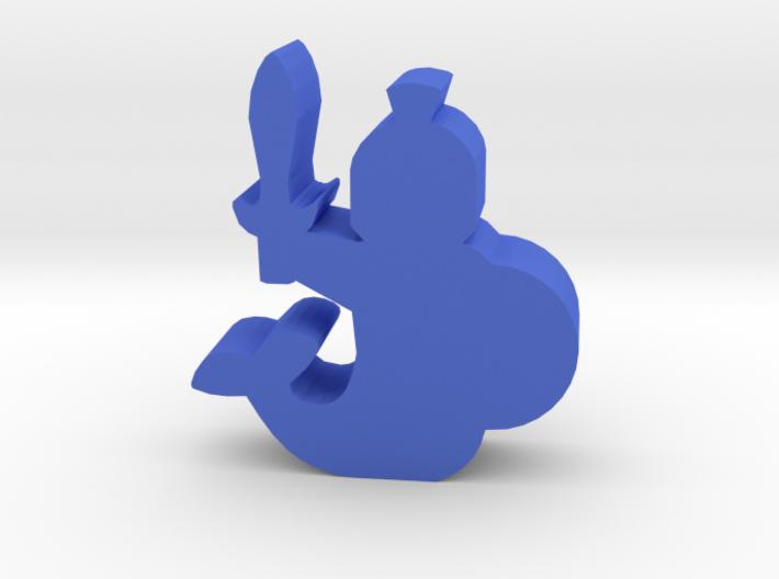 Game Piece, Merfolk Soldier 3d printed