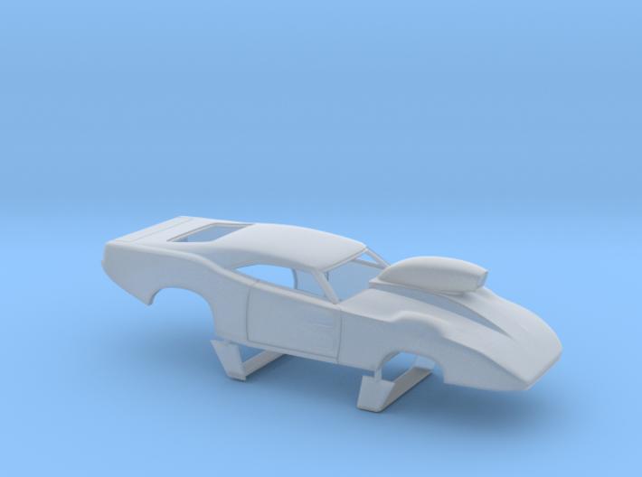 1/64 69 Daytona Pro Mod W Vents W Scoop 3d printed