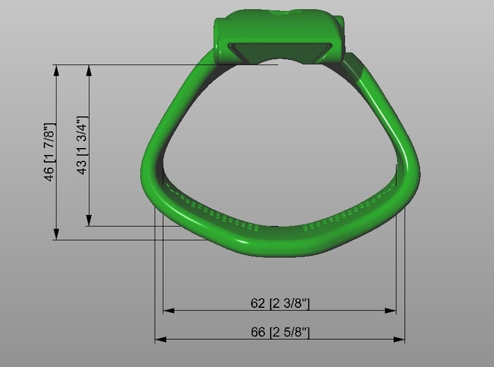 KHD X3 espresso Ring Small 40-45mm 3d printed