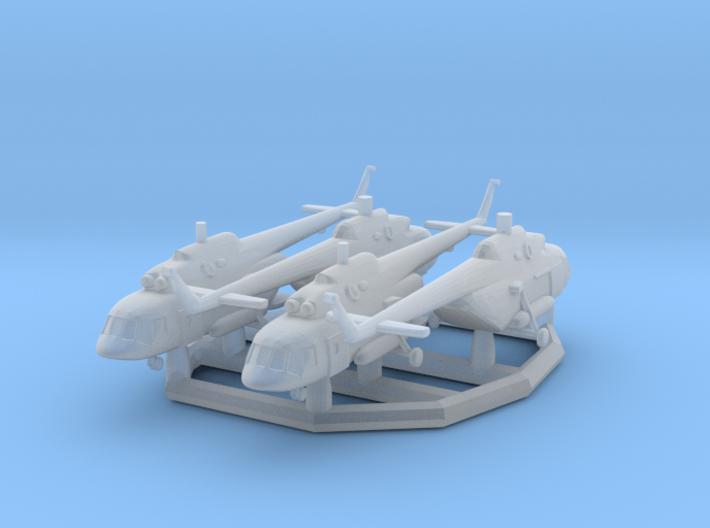 1/700 Mi-17V5 x4 (FUD) 3d printed