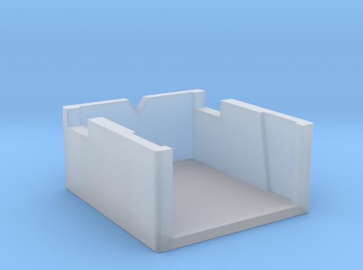 Dual Turntable Cartridge Alignment Gauge 3d printed