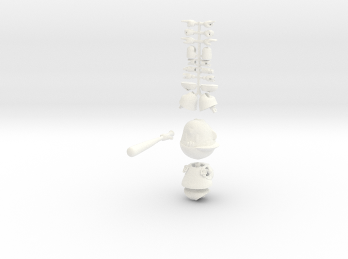 Ness Super Poseable Action Figure Kit Ver. 2 3d printed
