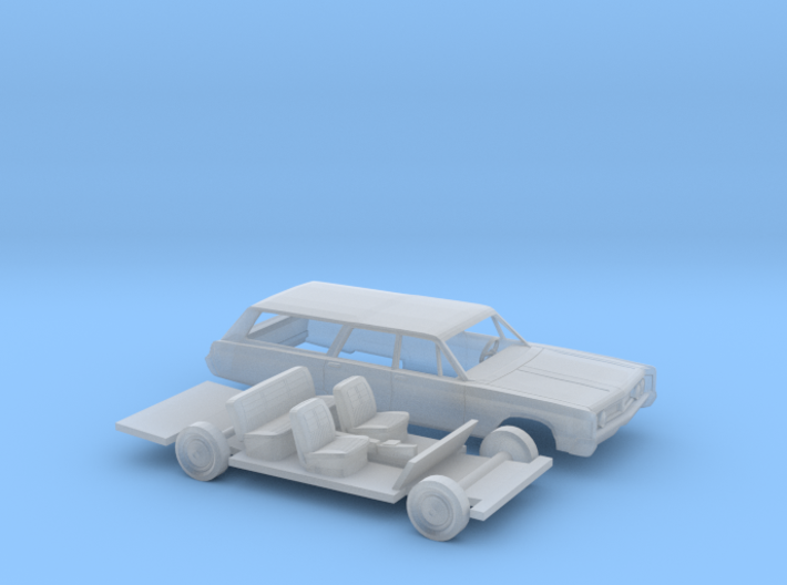 1/87 1967 Chrysler Town And Country Kit 3d printed
