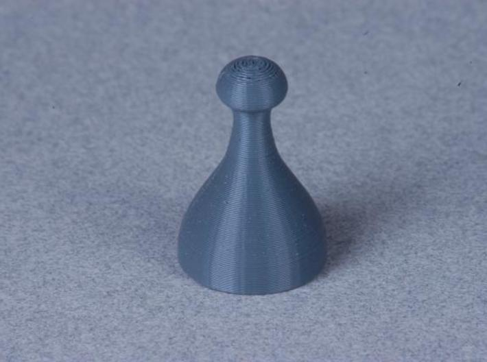 Chess Pieces 3d printed Black