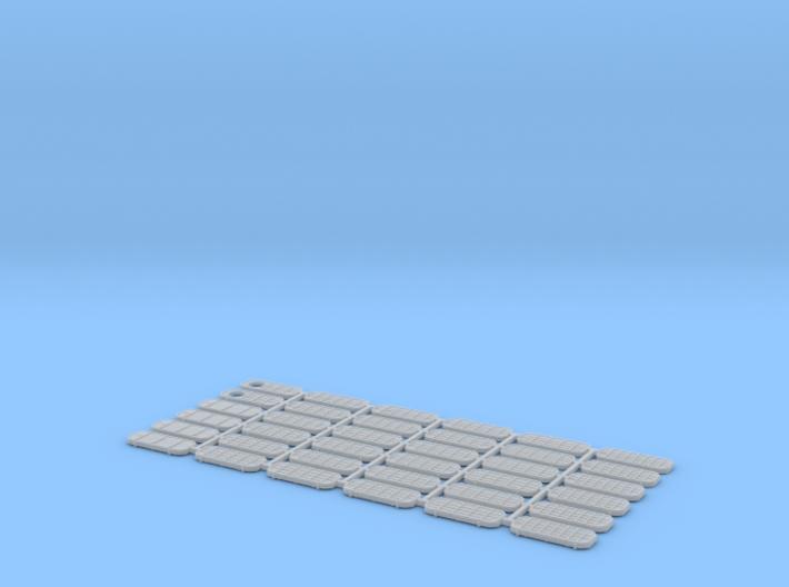 1/125 Doors US Navy Type (36) 3d printed