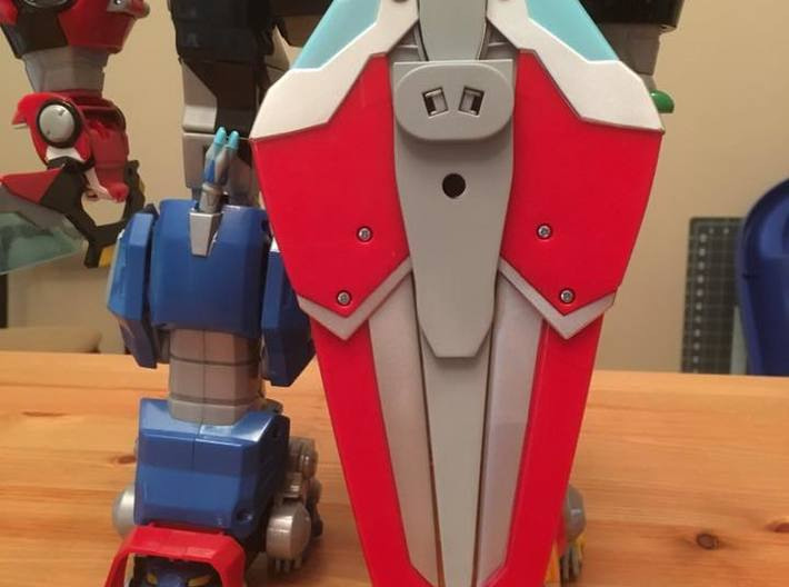 Lengendary Voltron Large Wing Shield Coupler 3d printed