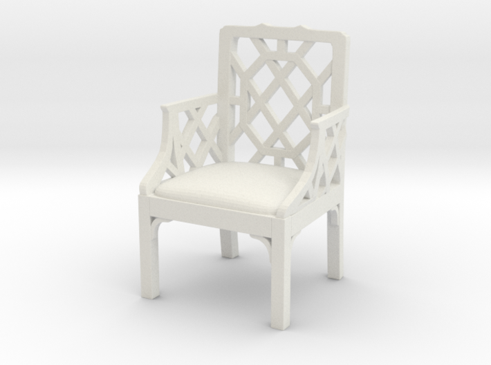 ArmChair 01. 1:12 Scale 3d printed