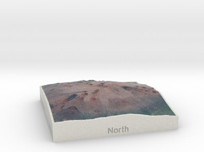 Mauna Kea, Hawai'i, USA, 1:250000 Explorer 3d printed