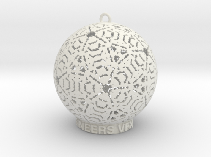 Creator Ornament 3d printed