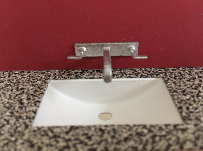 Tap wall mounted 1:12 3d printed