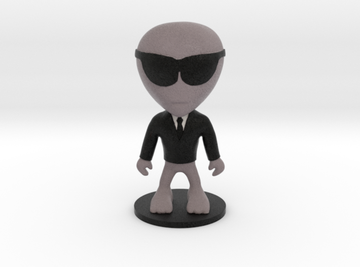 Little Alien MIB 3d printed
