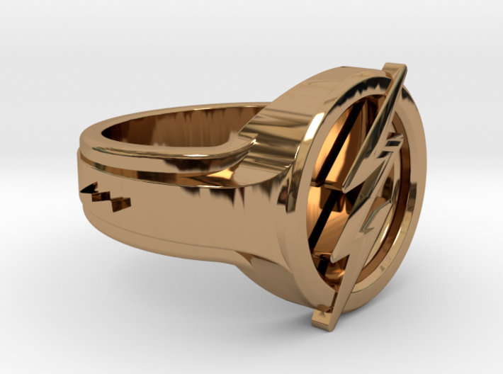 The Flash Ring 3d printed