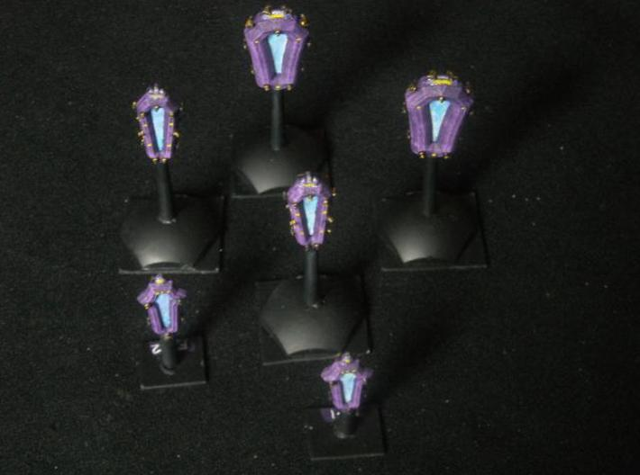 SP100A Stone Portal Battle Squadron Pack 3d printed Painted Models