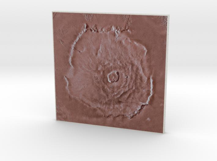 Olympus Mons, Mars, 1:5000000 3d printed