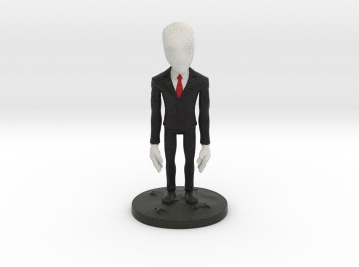 Slender Man 3d printed Little Slender Man
