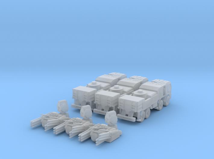 Pantsir S1 1:160 (set of 3) 3d printed