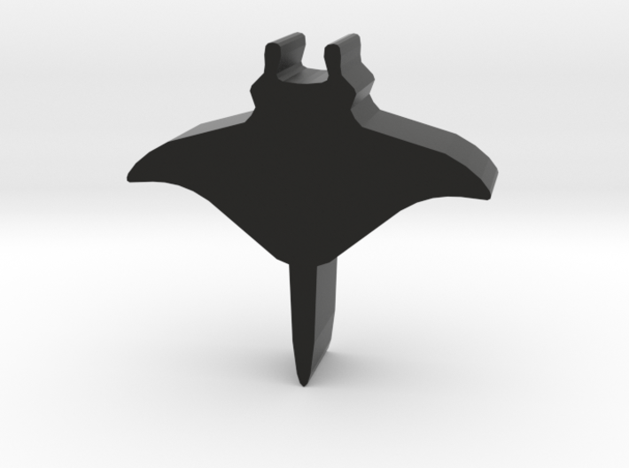 Game Piece, Manta Ray 3d printed
