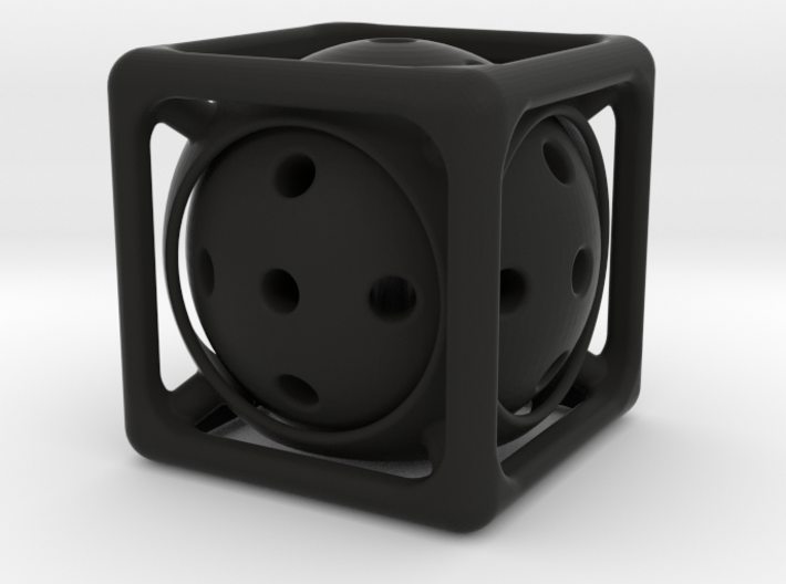 Ball-in-Cube 3d printed