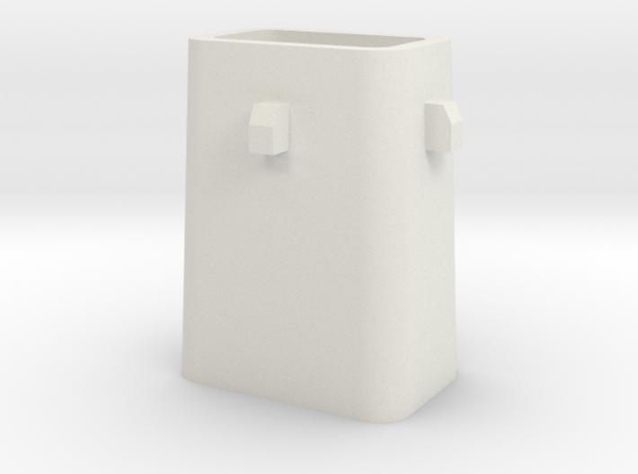 Stahlkokille 4 Zapfen mit Boden 1:120 3d printed