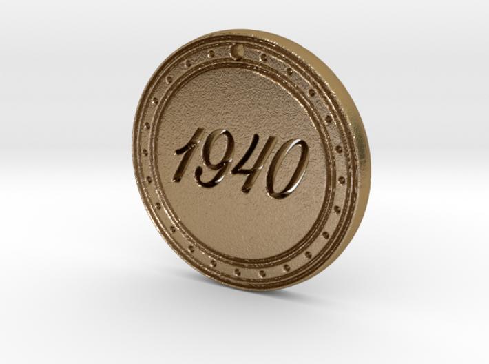 1940 Birth Year Pendant 3d printed