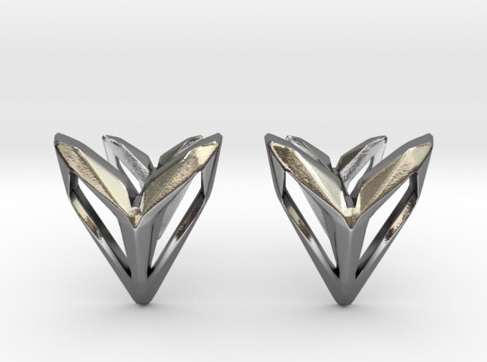 Phantom, Cufflinks. Space Chic 3d printed