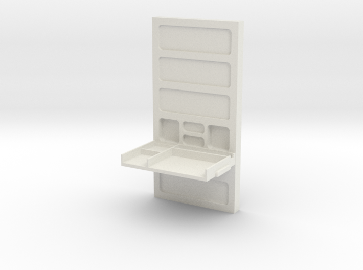 Wall, with Desk (Space: 1999), 1/30 3d printed