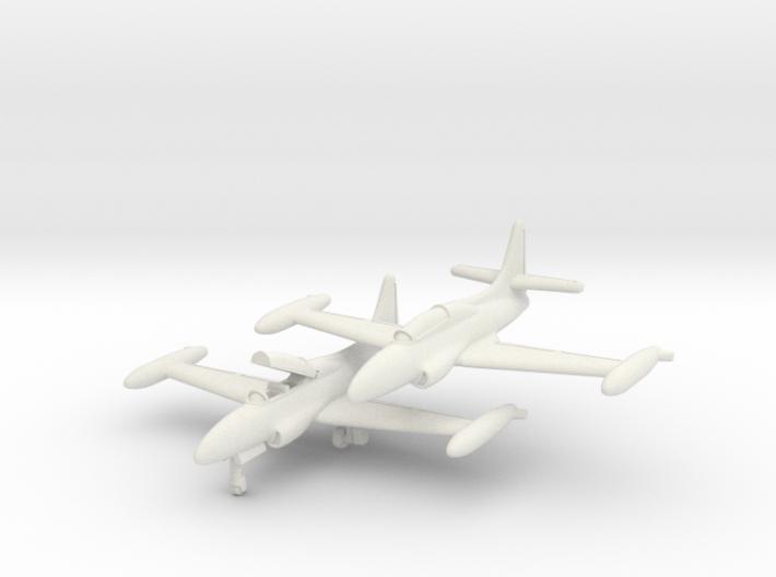 Lockheed T2V-1 Seastar 1/285 Pair 6mm 3d printed