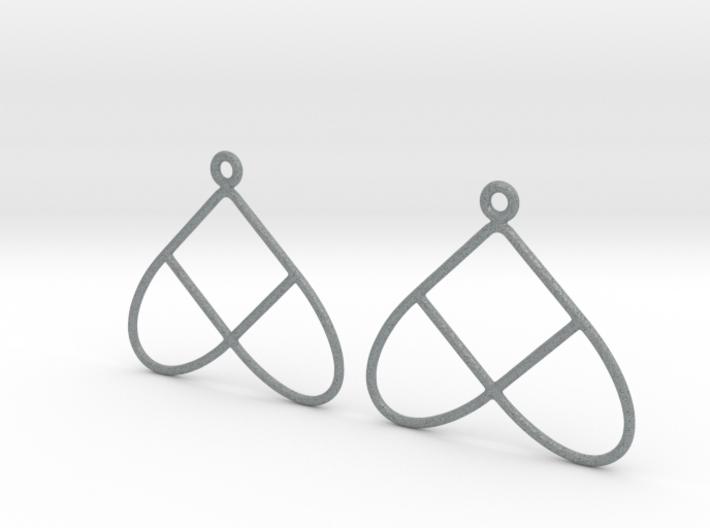 Celtic Weave Earrings - WE028 3d printed