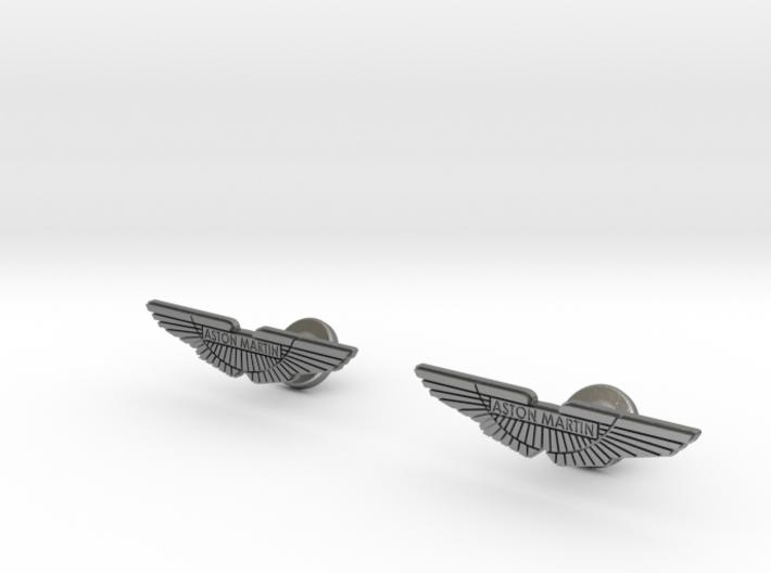 Aston Martin Cufflinks 3d printed