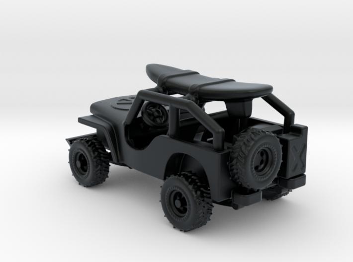 Jeep 1:120 TT 3d printed