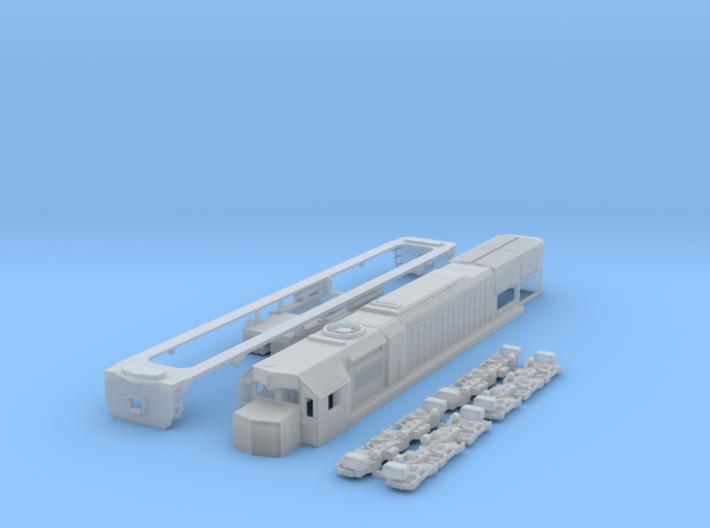 N scale GT26cw-2 3d printed