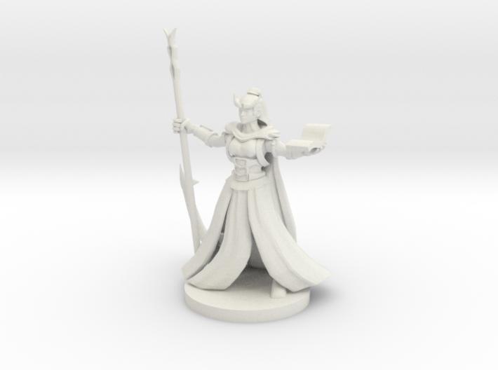 Tiefling Female Wizard 3d printed