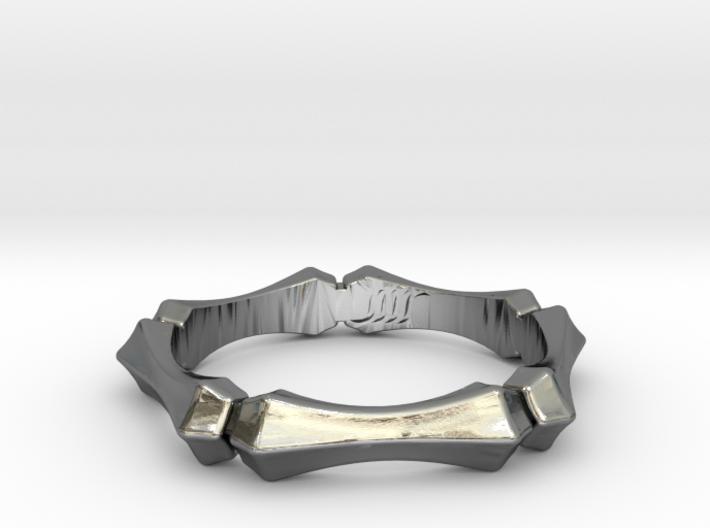 Pentagonal Ring 3d printed