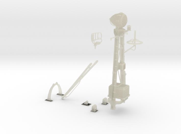 1-24 SO-3 Radar Mast PT-588 3d printed