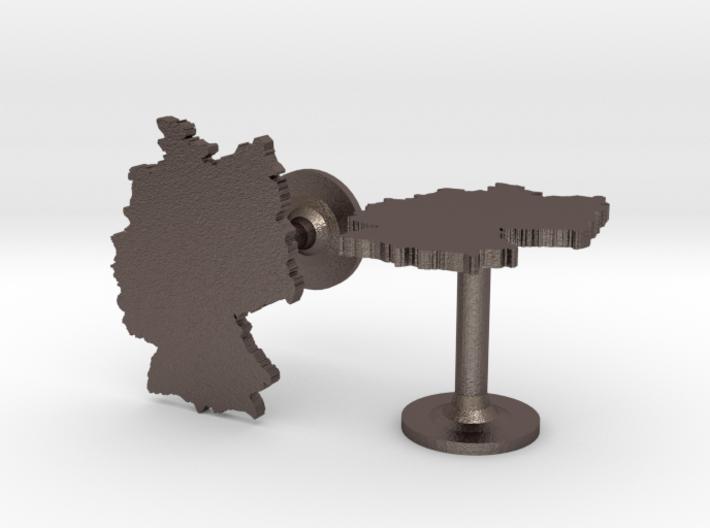 Germany Cufflinks 3d printed