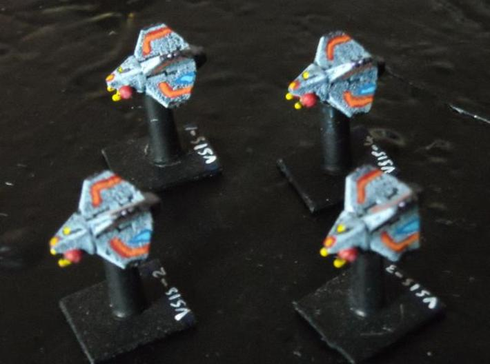 VA101A Void Sting Scoutship (x 4) 3d printed Painted model