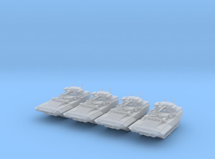 1/350 Russian T-15 Armata HIFV x4 3d printed 1/350 Russian T-15 Armata HIFV x4