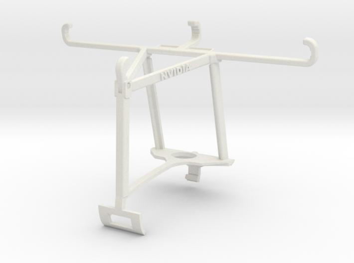 Controller mount for Xbox One S & BQ Aquaris X5 Pl 3d printed