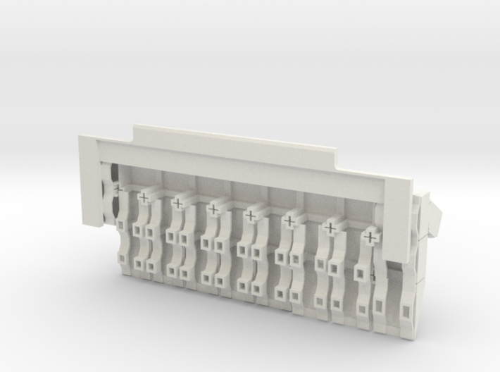 18th BUSK front ERA cluster 3d printed