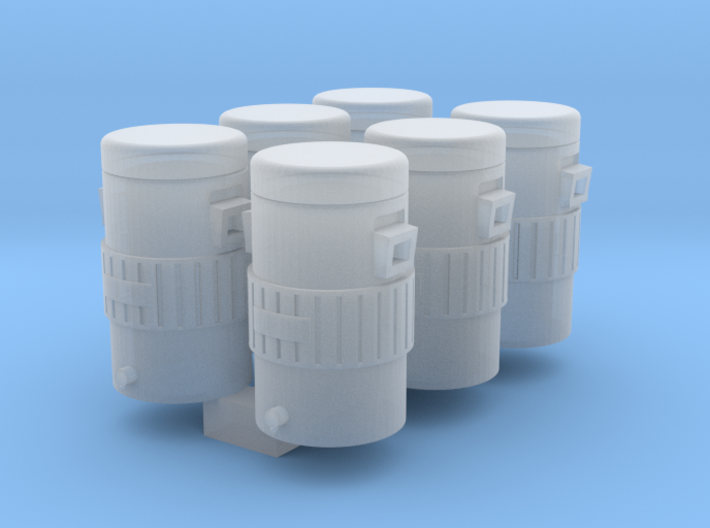 Igloo Style 1-87 HO Scale Cooler (6Pack) 3d printed