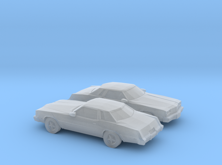 1/160 2X 1977 Oldsmobile Cutlass Supreme 3d printed