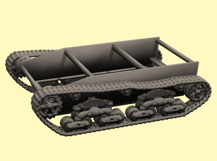 28mm Wk6 tracked chassis 3d printed