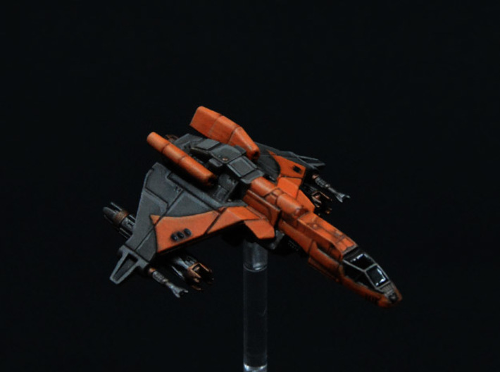 4-pack Vaksai Engine Booster Mod for Kihraxz Fight 3d printed