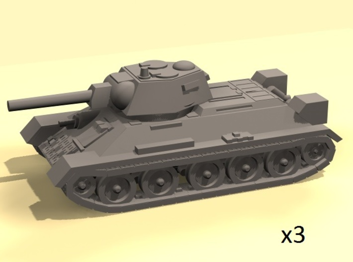 1/160 T-34 tanks 3d printed