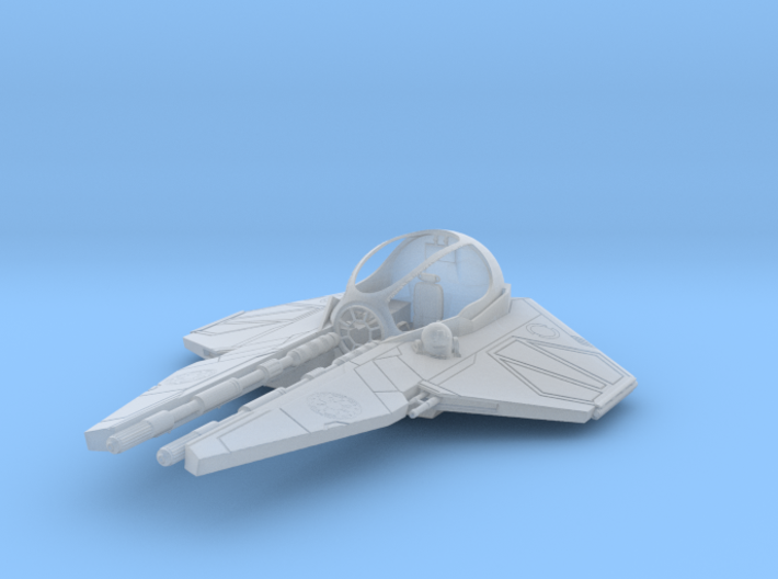 1/72 Eta-2 Actis-class Jedi Interceptor Dock Md. 3d printed