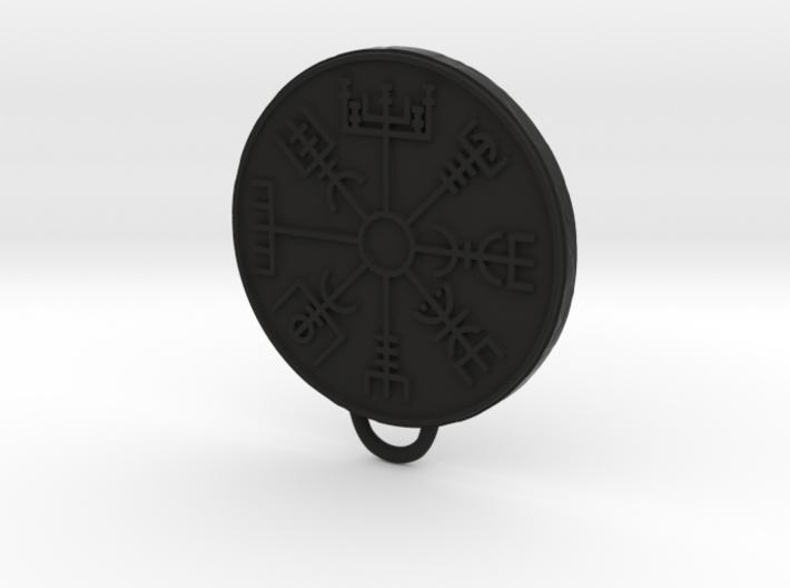 Vegvisir pendant 3d printed