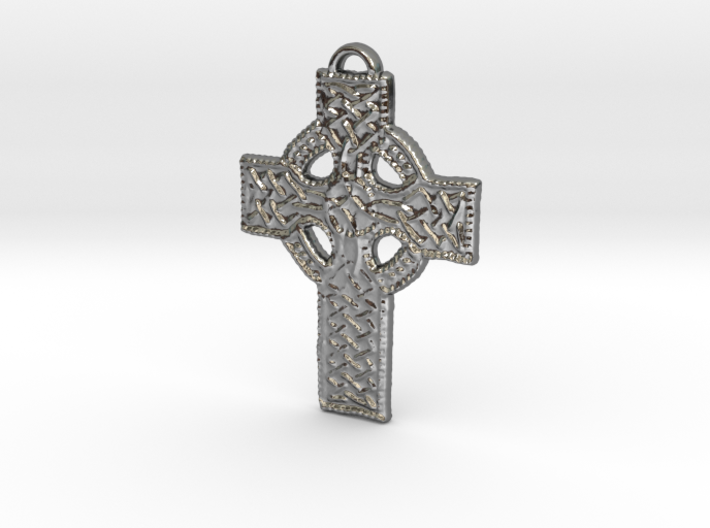 Roped Celtic Cross 3d printed